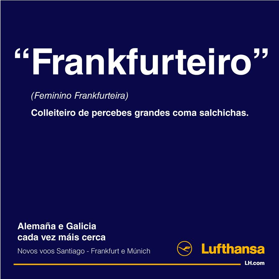 INRED juega a inventar palabras para la campaña de Lufthansa #Galimania