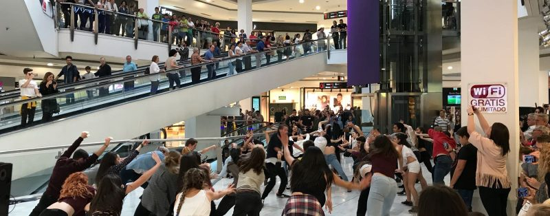 Flash Mob en La Vaguada
