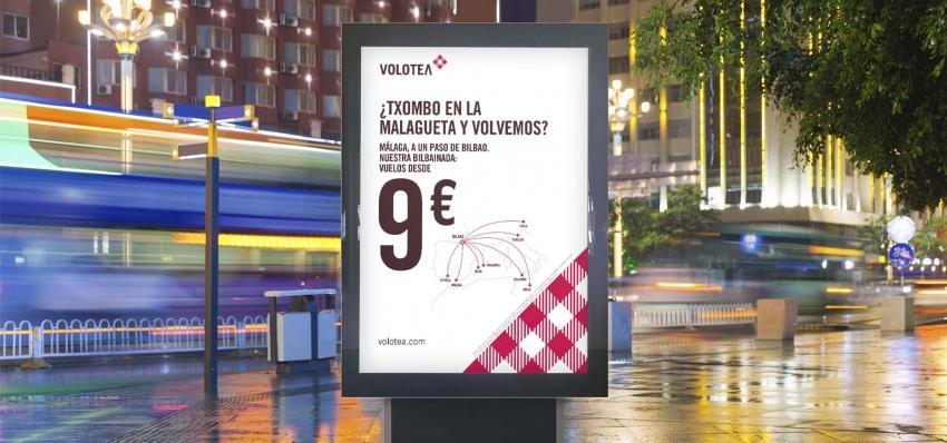 Grupo INRED hace una bilbainada para comunicar los nuevos destinos de Volotea