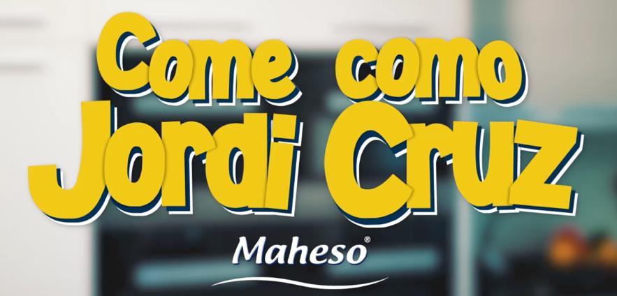 Nueva campaña de Grupo INRED para Maheso en RRSS con Jordi Cruz